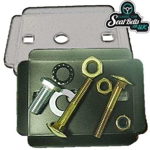 Seat Belt Mounting Reinforcing Plate Kit
